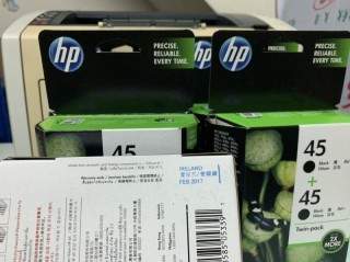 Mực in HP 45 hộp đôi Black Original Ink Cartridges (CC625AA)